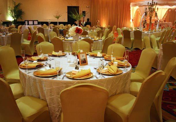 Grand Ballroom Reception with Altar