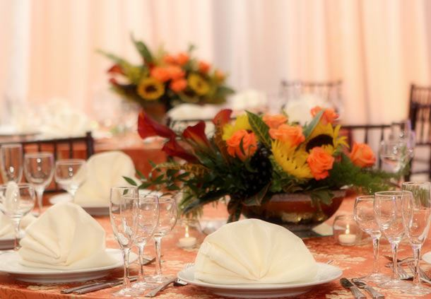 Amber Tablescape