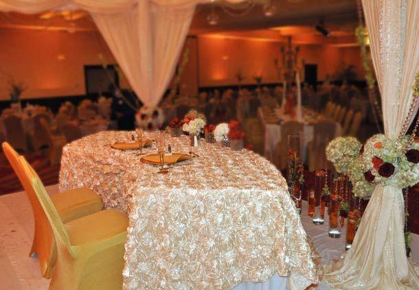 Head Table on Altar
