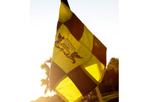 Waving the Course Flag