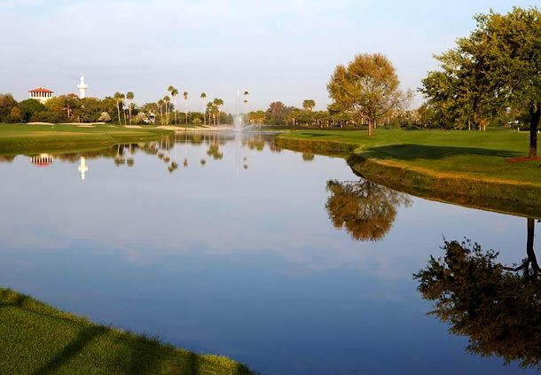 Golf Course Water View