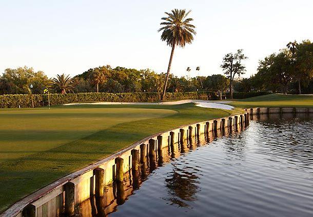 Golf Course at Dusk