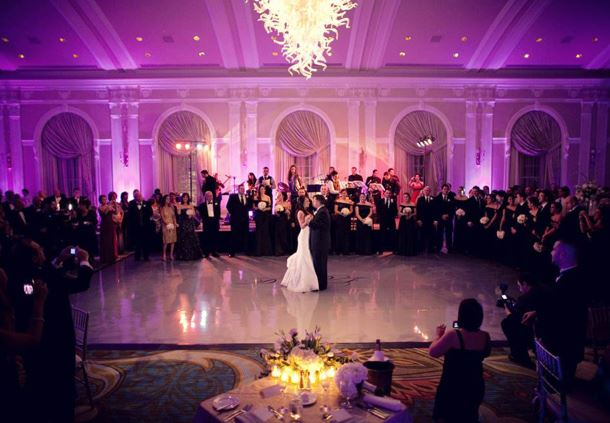 Grand Ballroom Wedding Décor
