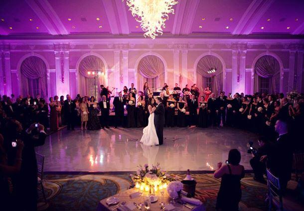 Grand Ballroom Wedding Décor