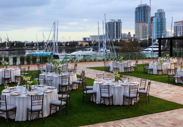 Esplanade Wedding Reception - Water View