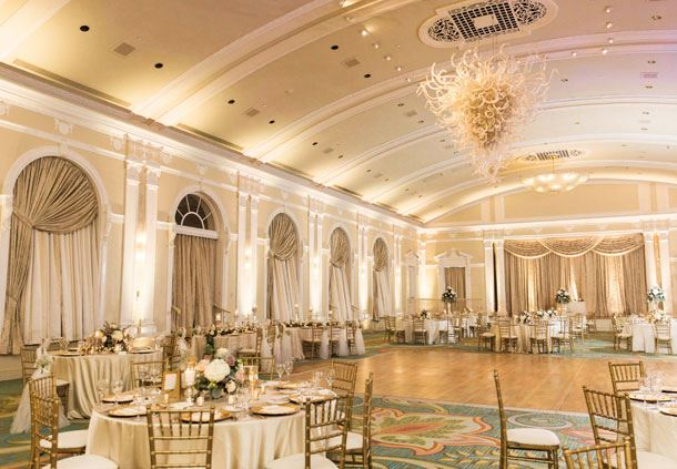 Vinoy Grand Ballroom - Wedding Reception Details