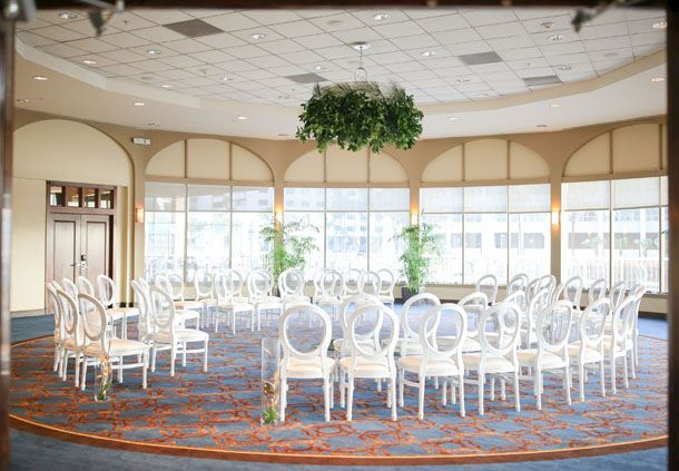 Riverwalk Ballroom - Wedding Reception Setup