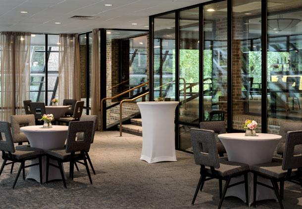 Treehouse Lounge - Banquet Setup