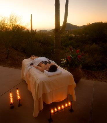 Outdoor Therapeutic Massage
