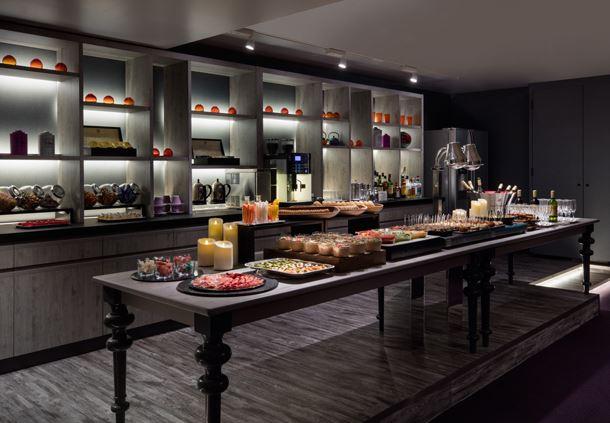 Executive Lounge Buffet Area