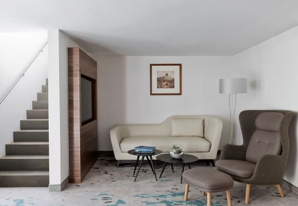 Maisonette Suite Living Area