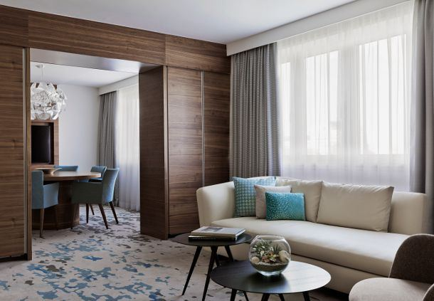 Park Suite Living & Dining Area