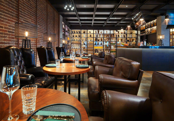 Grill & Grain - Dining Area