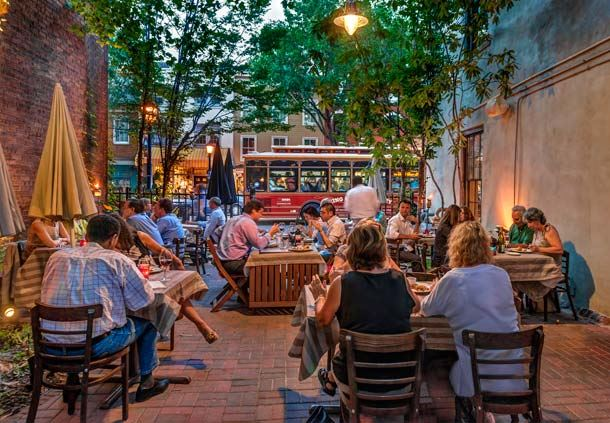 Outdoor Dining on King Street