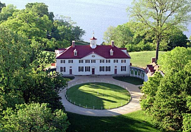 George Washington's Mount Vernon Mansion