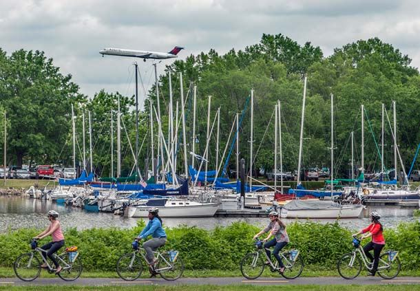 Washington Sailing Marina Bike Rentals
