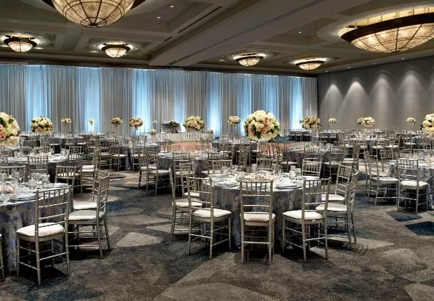 Grand Ballroom - Wedding Reception Setup