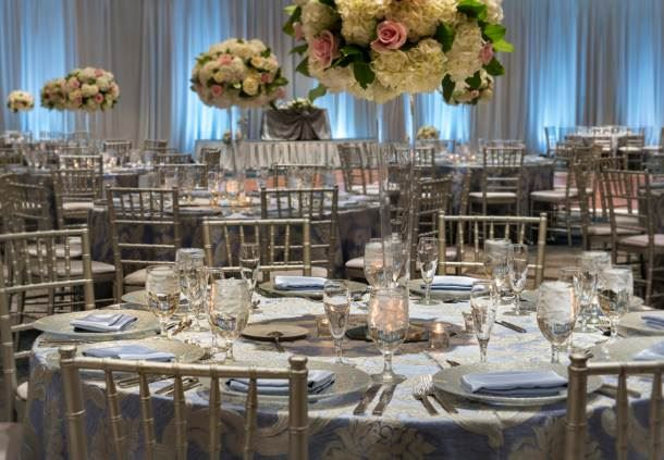 Grand Ballroom - Wedding Reception Details