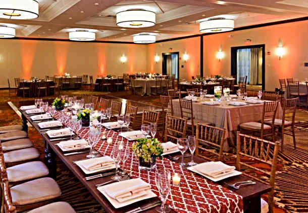 Grand Ballroom - Reception Set Up