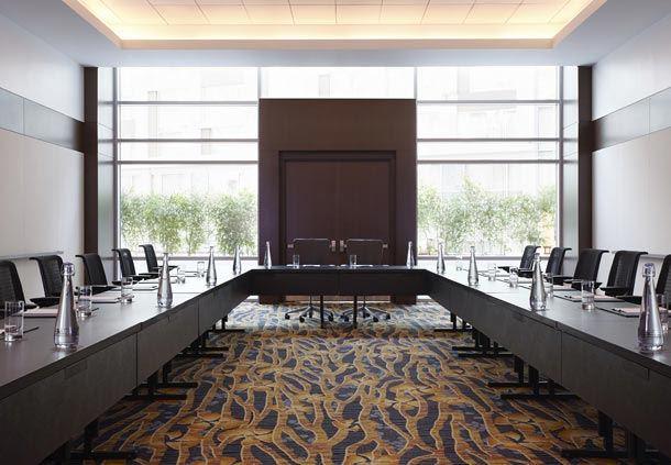 Cherry Blossom Meeting Room - U-Shape Setup