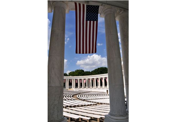 Exterior of Arlington Memorial Amphitheater
