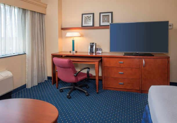 Work desk in King Deluxe Room