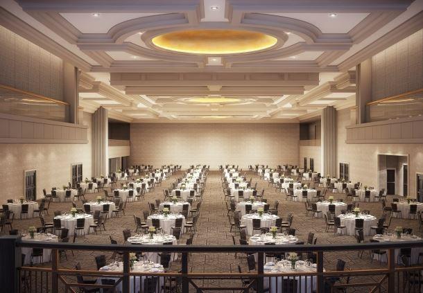 Marriott Ballroom - Banquet Setup