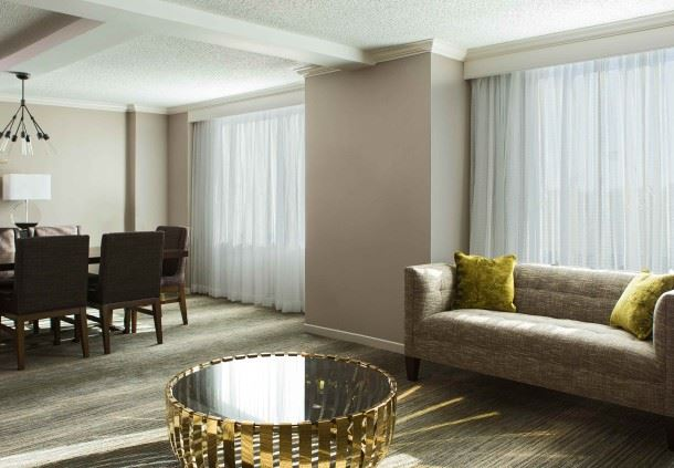 Hospitality Suite - Living Room