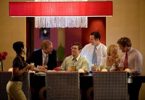 Ellipse Lounge Communal Table