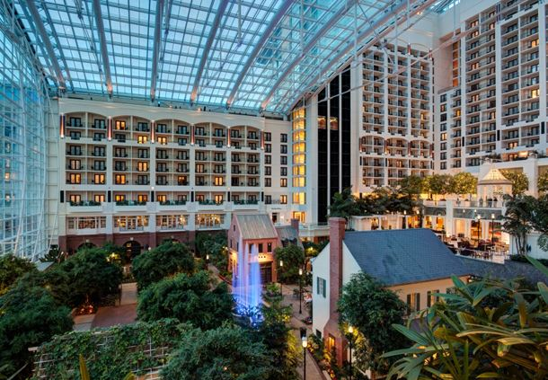 Gaylord National Atrium View