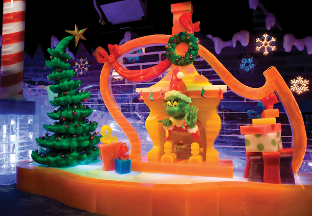 ICE! featuring How The Grinch Stole Christmas!