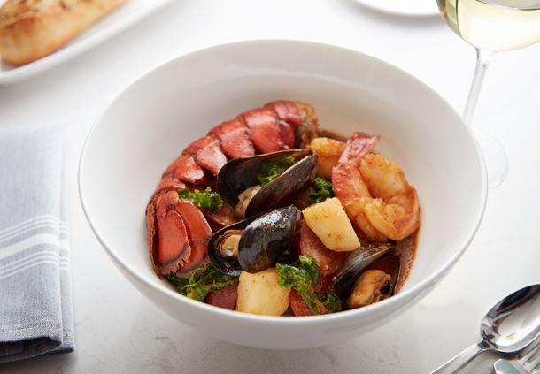 Shellfish & Chorizo Stew