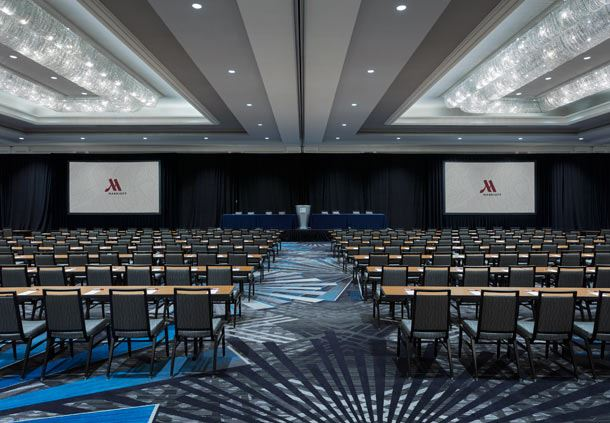 Re-Imagined Arlington Ballroom - Classroom Setup