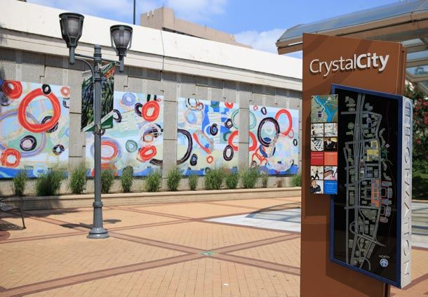 Crystal City Metro