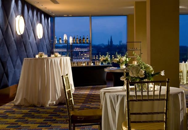 Capital View Ballroom Cocktail Reception