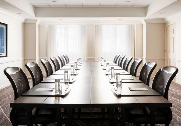 MacArthur Meeting Room - Boardroom Setup