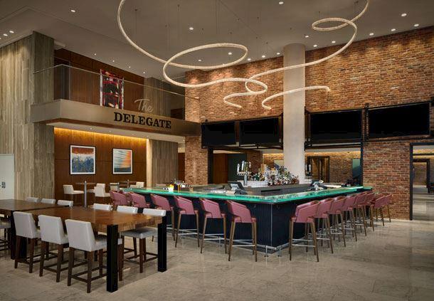 The Delegate Bar