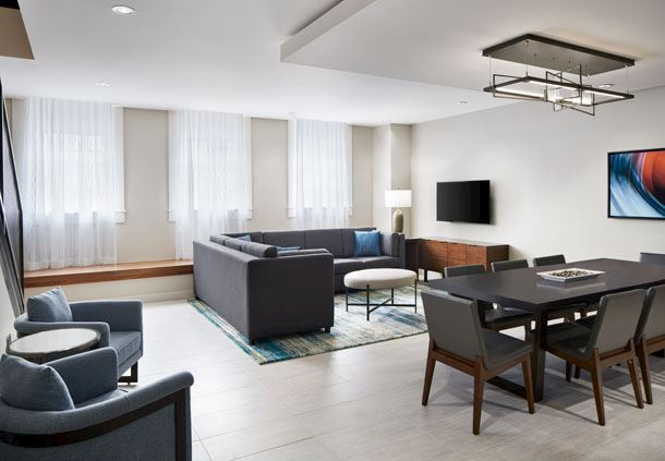 Hospitality Suite - Living Area