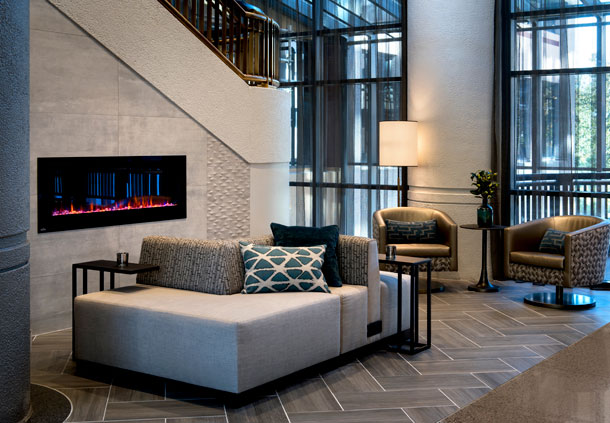 Great Room - Fireplace & Seating