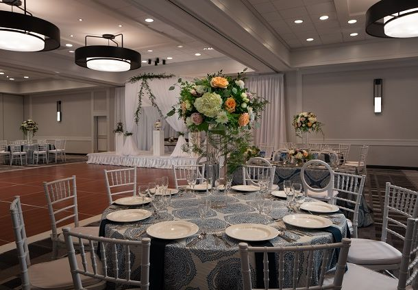 Galleria Ballroom Wedding - Banquet Setup