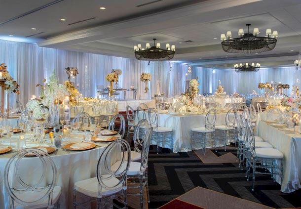 Chesapeake Ballroom - Wedding Reception Setup