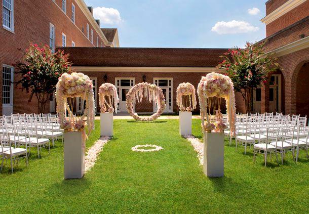 Sheppard Patio - Wedding Reception Setup