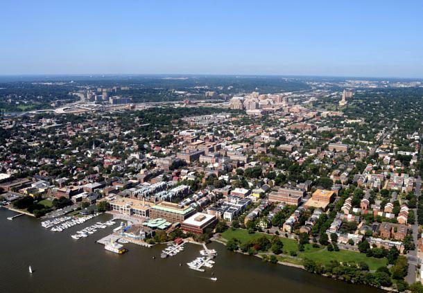 Aerial View of Alexandria