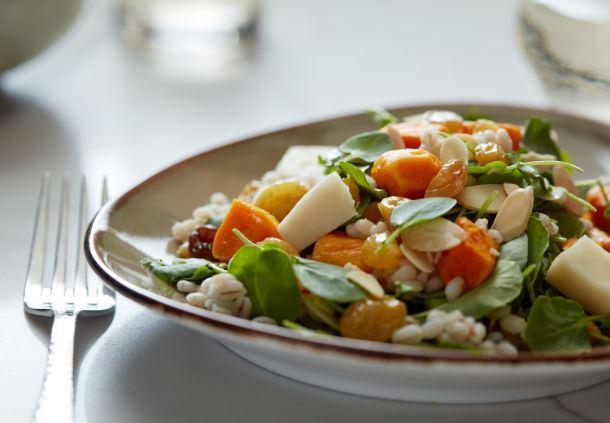 Pumpkin Barley Salad