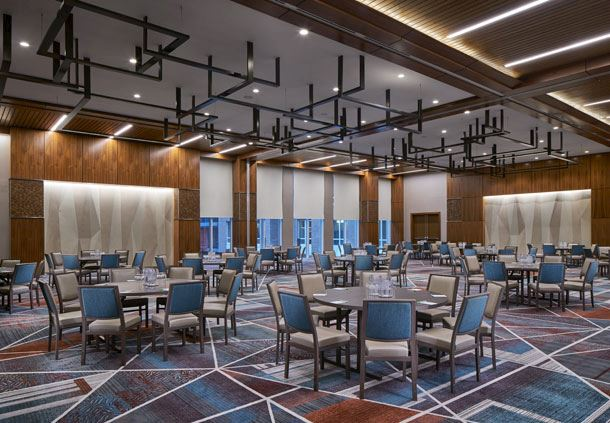 Shaw Ballroom - Meeting Rounds