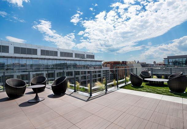 Rooftop Terrace - North View
