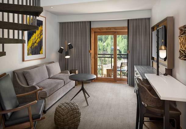 Bi-Level Loft - Living Area