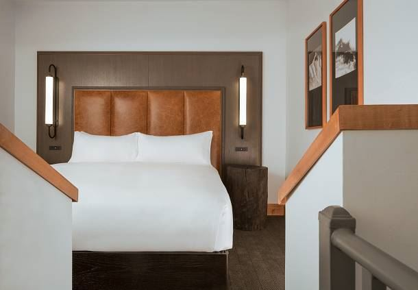 Bi-Level Loft - Bedroom