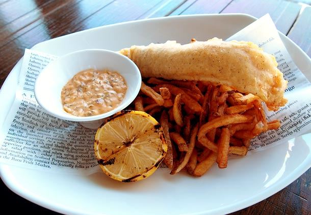 Haddock Fish & Chips