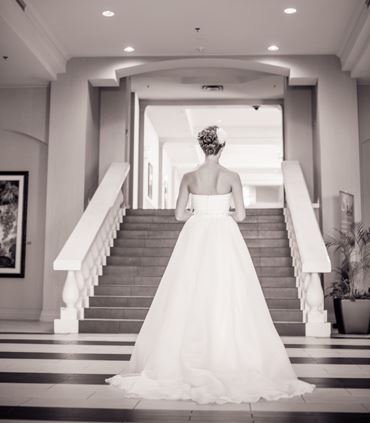 Bride in Foyer
